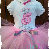 Pretty Princess Birthday Outfit
