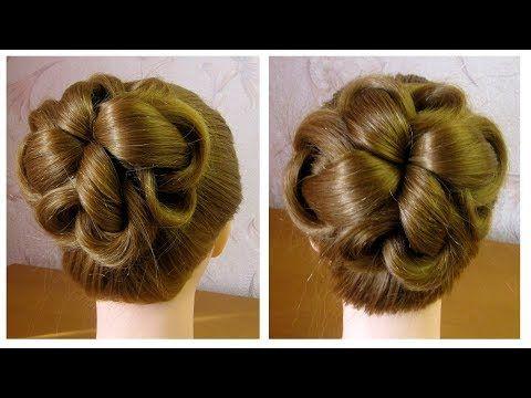Chignon Facile Coiffure Simple Et Rapide Cheveux Mi Long Long Easy Hair Bun Tutorial Youtube Hair Styles Long Hair Styles Trending Hairstyles
