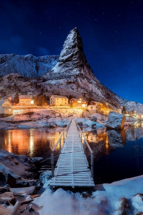 Lofoten Island of Senja, Norway:
