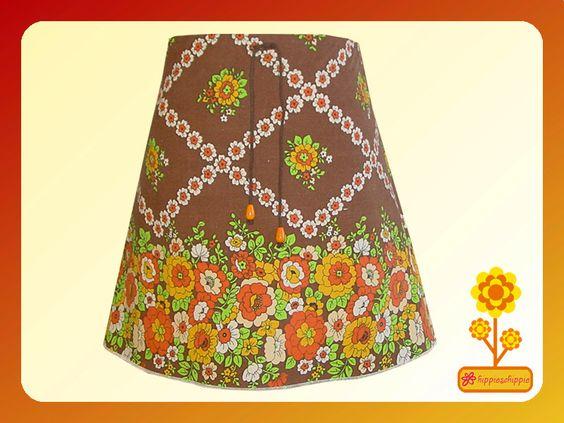 """Miniröcke - Mini Rock """"Peaches"""" Kultiger Stoff der 60er - ein Designerstück von Hippieschippie bei DaWanda"""