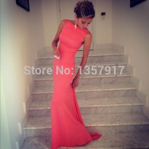 Form Fitting Bridesmaid Dresses