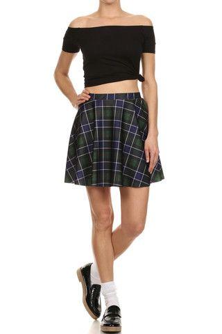 Great Scott Skater Skirt - POPRAGEOUS  - 1