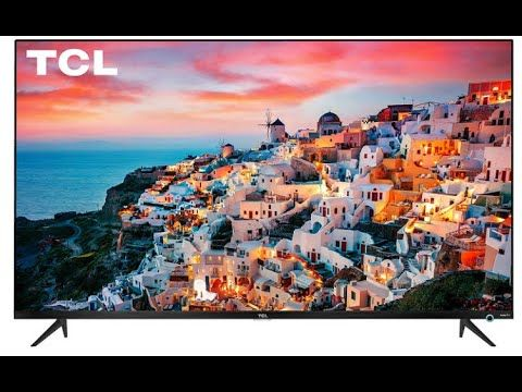 TCL 50 Class 5-Series 4K UHD Dolby Vision HDR Roku Smart TV 50S525