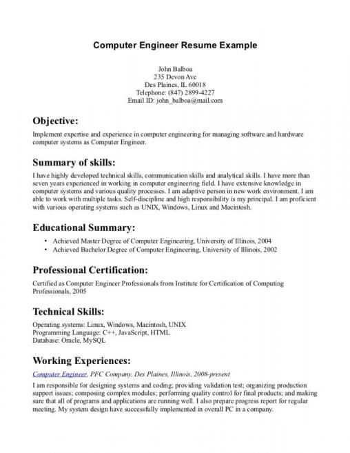 Resume Examples For Customer Service Objective Resume Objective Engineering Resume Resume Examples