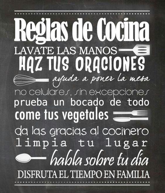 Pinterest the world s catalog of ideas - Carteles de cocina ...