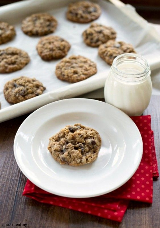 Cherry Chocolate Almond Cookies - i heart eating
