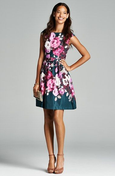 And dresses floral dresses and wedding guest dresses on for Floral wedding guest dresses
