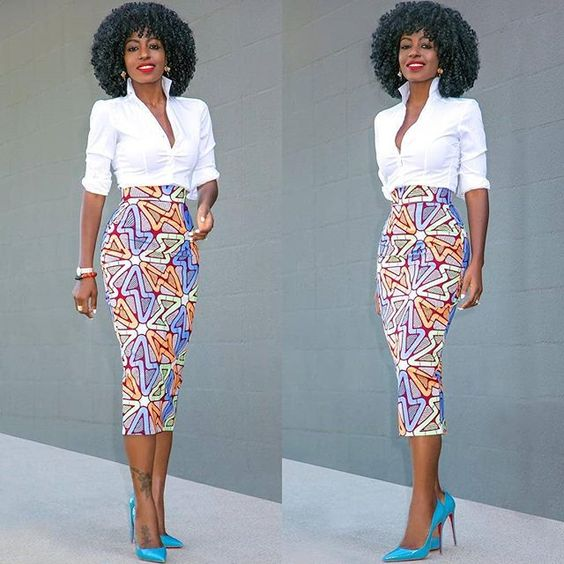 2019 Latest Ankara Skirt Styles