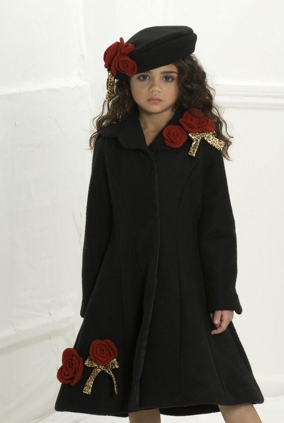Little darling!! so chic! :D Little Girls Coat | Elyssia Elena&39s