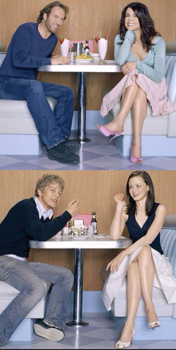 My favorite gilmore girls couples  the way series should have ended up!