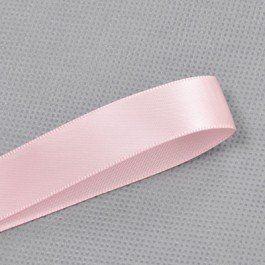 117 - Light Pink Double Face Satin Plain Ribbon