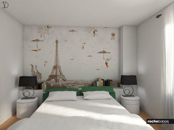 Prove tecniche   camera con letto #anarima in pelle verde con ...