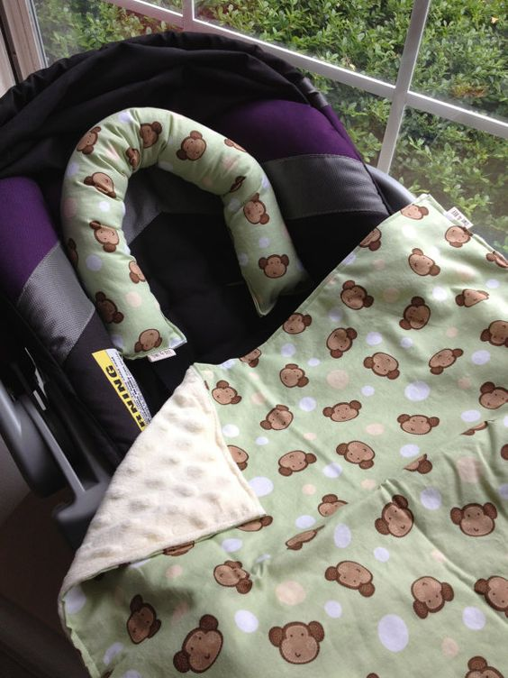 Infant Car Seat Blanket and Head Cushion . Kenai do you have car seat blanket?????