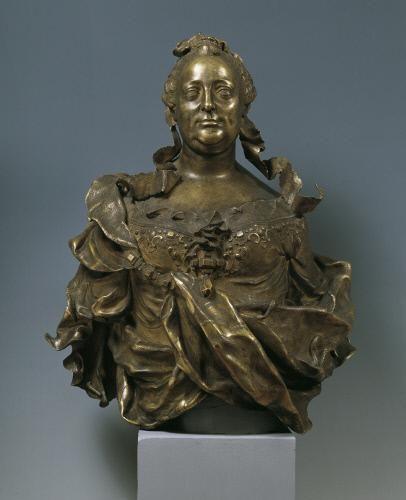 Franz Xaver Messerschmidt - Marie Terezie, kol. 1760