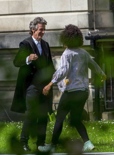 DOCTOR WHO FILMING MATTHEW HORWOOD PHOTOGRAPHY - Lovely, vivid photos from the Doctor Who set today (June 27, 2016). Photos ©Matthew Horwood