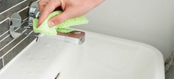 Badkamer ecologisch schoonmaken - natuurlijke schoonmaakproducten ...