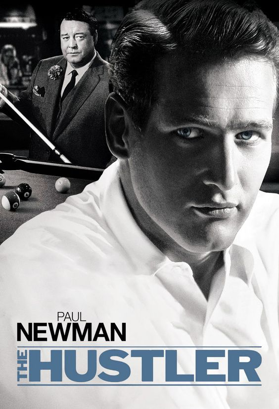 The Hustler (1961) Newman & Jackie Gleason (as the real life 'Minnesota Fats') at their best. Sequel with Newman & Tom Cruise was garbage in comparison.