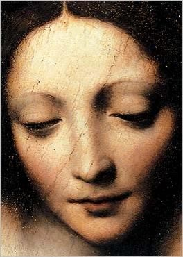sooo beautiful:  The-Christ-Child-Asleep-(detail)_Bernardino-LUINI: