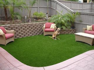 EasyTurf + patio