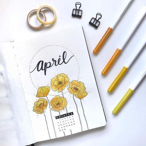 30 idées pour votre montly cover d'avril
