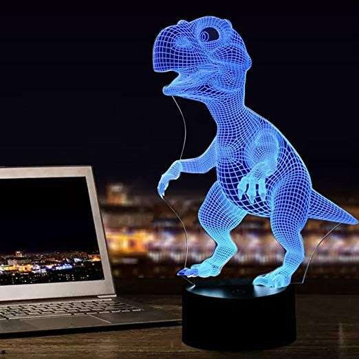 Image Result For Lampe 3d Dinosaur 3d Night Light Dino Lamp Nightlights
