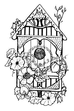Victorian Birdhouse - 445 P