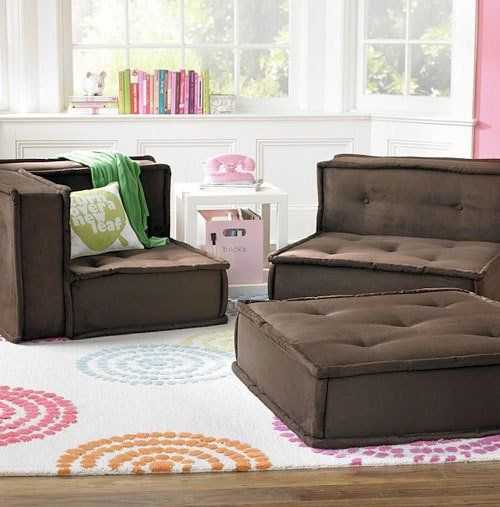 Floor Pillows Playroom : Lounge Seating on a Budget Puppys, Inspiration and Fit