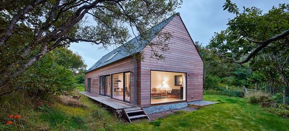 Self Build Houses Build House And House Kits On Pinterest