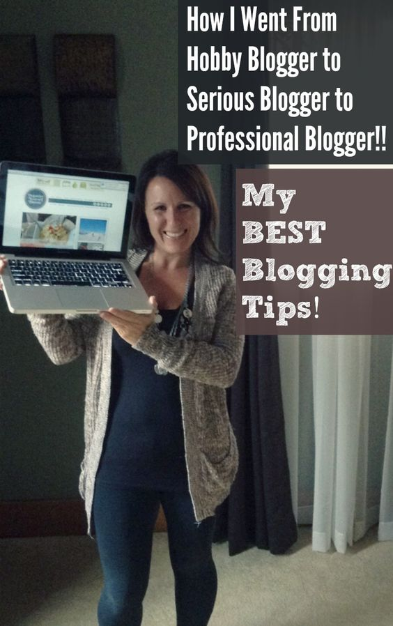 How I Went From Hobby Blogger to Serious Blogger to Professional Blogger