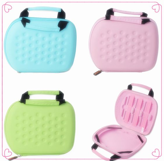 """Children's Anti-Shock Anti-Pressure Protection 7"""" Learning PC Case w/Handle 3 Colors"""