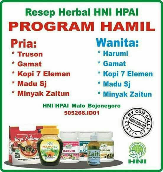 Program Hamil Hpai Order Wa 082226799918 Ig Halal Hpaisemarang Klik Link Di Bio Untuk Info Dan Pemesanan Langsung Follow Ig Un Hamil Kesehatan Produk