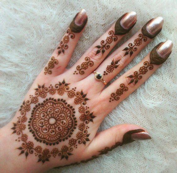 Arabic Tikki Style Mehndi