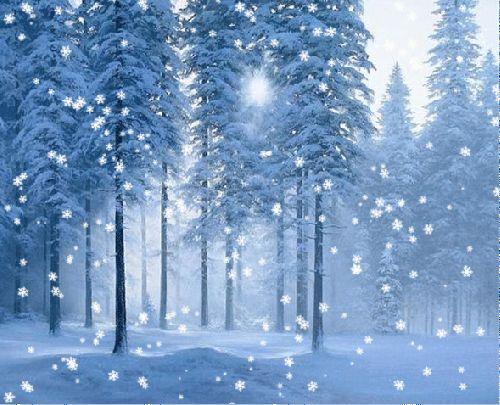 Картинки блестяшки красивая зима