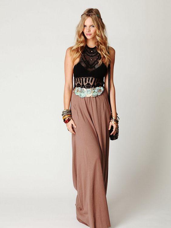 J'adore les jupes longues!