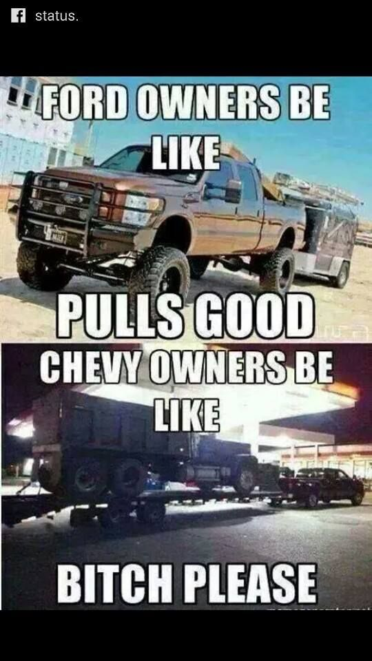 Pin By Austin Eames On Anti Ford Memes Jacked Up Trucks Ford