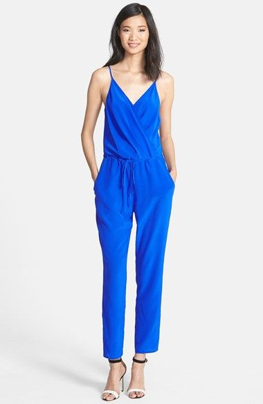 Bright Blue jumpsuit | Style | Pinterest | Tutine, Jade e Seta