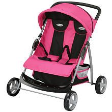 Kids Graco Baby Twin Doll Stroller Double Side By Side 4