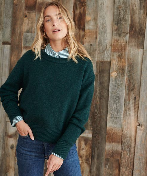 Find Your Uniform | Jenni Kayne | Sweaters, Teal sweater