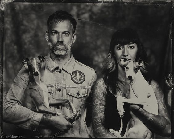 Tintype Photography by Giles Clement