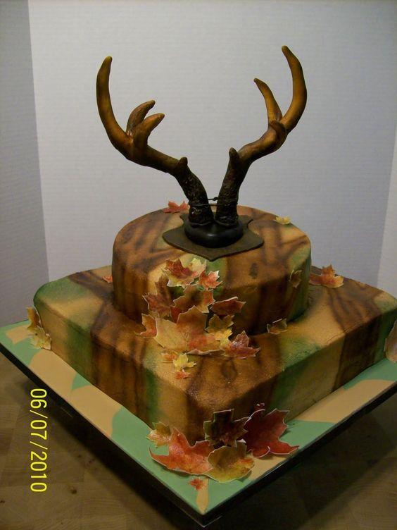 Deer Hunting Cakes Friday June 11 2010 A Piece Of