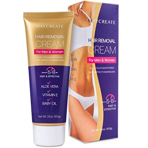 Maycreate Hair Removal Cream Depilatory Cream Hair Remover For Men And Women Natural Painless Best Hair Removal Products Hair Removal Cream Depilatory Cream