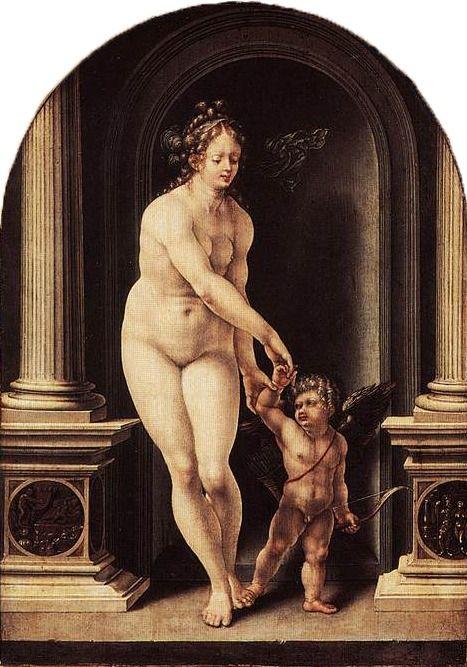 Jan Gossaert - Venus and Cupid