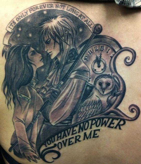 Awesome Labyrinth tattoo! | Tattoos | Pinterest | I want ... Labyrinth Owl Tattoo