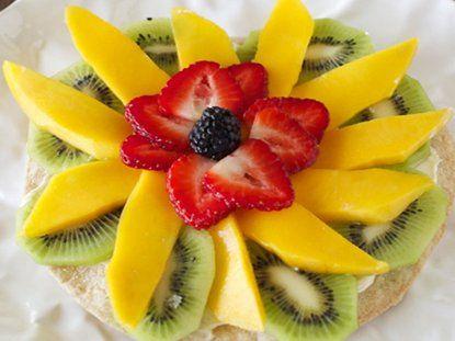 Tostada de Frutas - Que Rica Vida