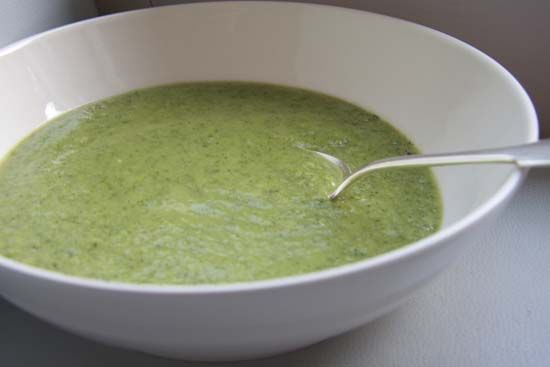 broccoli soup and other detox recipes from Gwyneth