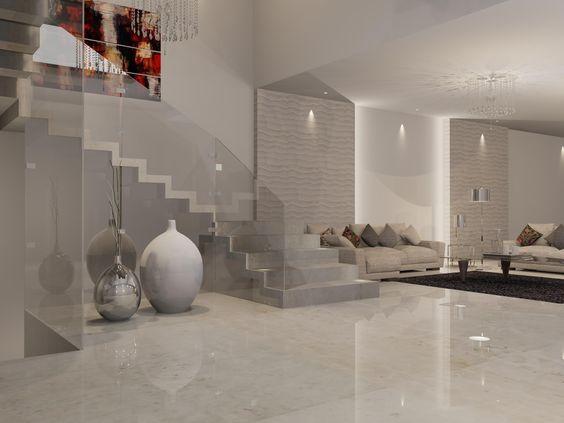 Sala y descanso de estilo contempor neo materiales for Sala estilo contemporaneo