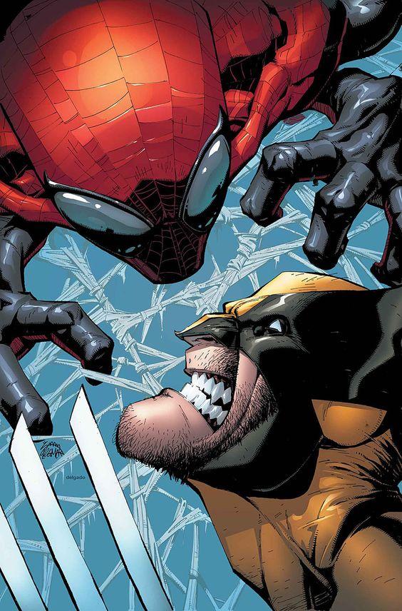 Wolverine vs Spider-Man