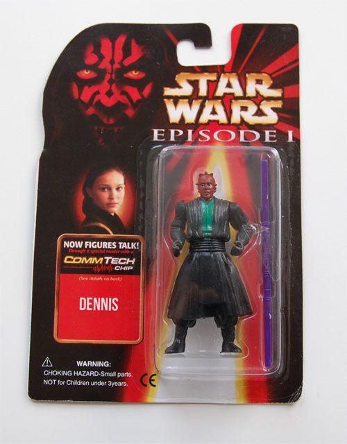 Dennis aka Darth Maul, the Phantom… Menace?
