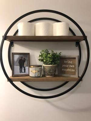 Wall Shelf Decor, Round Wall Shelf Decor Ideas