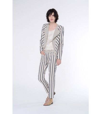 Vanessa Bruno - Armand linen and cotton-blend trousers